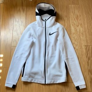 White Drifit Nike zip up - Great condition